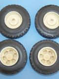 14.00 x 24 Heavy Drive Tires W/6 Spoke Wheels. WD31TY1