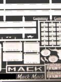 Mack Custom Photo Etched Sheet. PE45