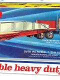 1/25 TH GREAT DANE EXTENDABLE HEAVY DUTY FLATBED TRAILER. 1111